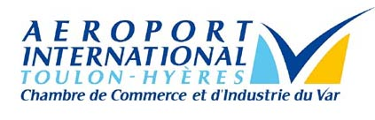 logo aeroport international toulon hyeres